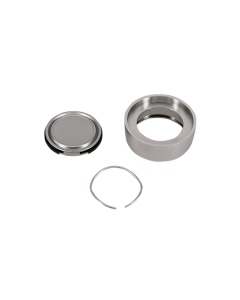 Cylinder ring kit Signature PVD SatBrass 14mm w/seal
